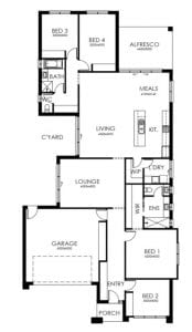 EHA Alexandra253 Floorplan