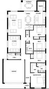 Hotondo Erskine225 Floorplan