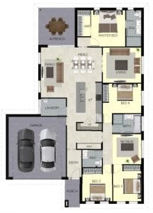 Integra Livingstone217 Floorplan