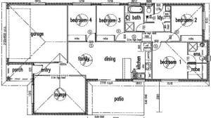 Samphire street Floorplan
