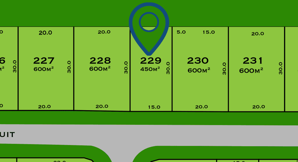 Land for sale hervey bay - lot229 - The sanctuary