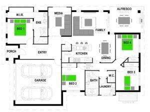 Stroud Avoca198 Floorplan