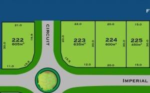 The Sanctuary Lot 223 Plan