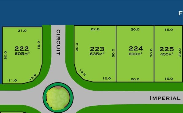 The Sanctuary Lot 223 Plan